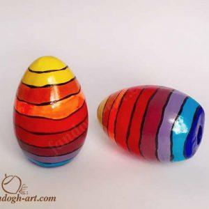 تخم مرغ رنگی سفره هفت سین سایت هنری فندق