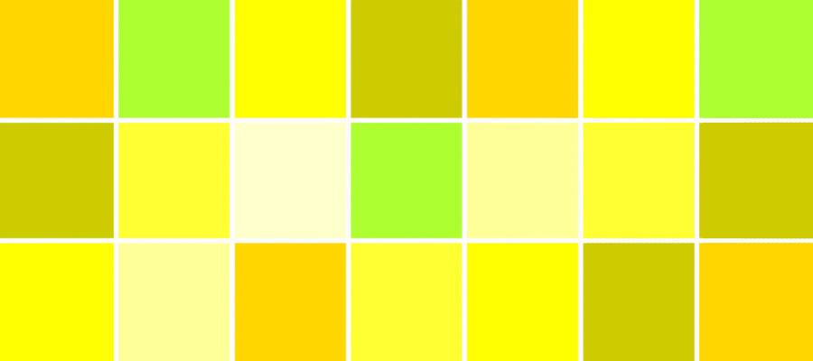 رنگ زرد در کسب و کار سایت هنری فندق