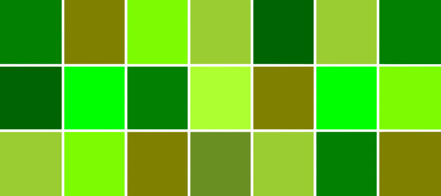 رنگ سبز در کسب و کار سایت هنری فندق