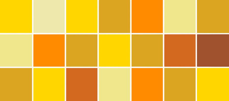 رنگ طلایی در کسب و کار سایت هنری فندق