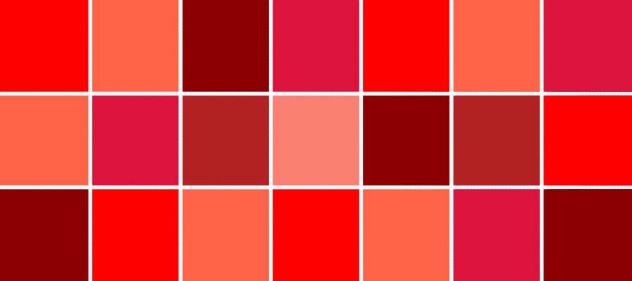 رنگ قرمز در کسب و کار سایت هنری فندق