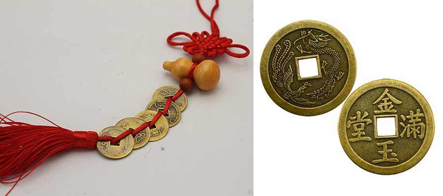 سکه ای چینگ در فنگ شویی-فنگ شویی چی سایت هنری فندق