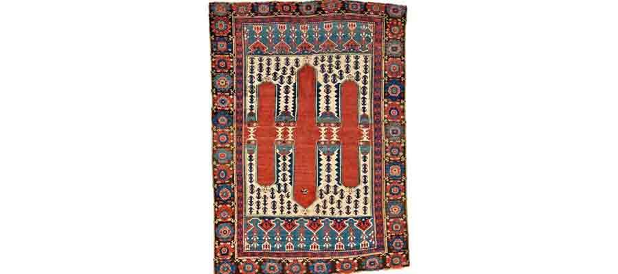 فرش بافی در ترکیه؛ بررسی نمونه موردی از برگاما-بی بی راگ-سایت هنری فندق
